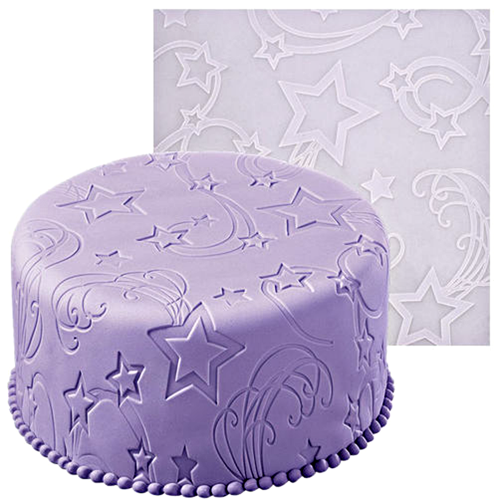 Star Power Fondant Imprint Mat 50 x 50 cm