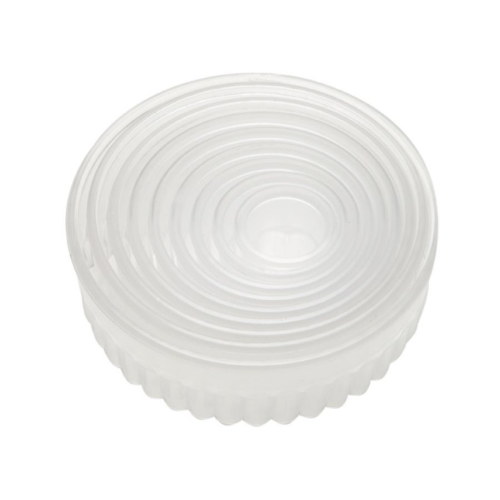 Fluted Round Cookie and Pastry Cutter