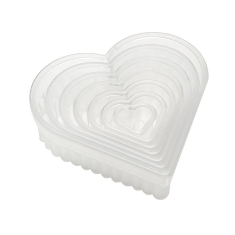 Fluted Heart Biscuits and Pastry Cutter