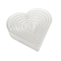 Plain Heart Biscuits and Pastry Cutter