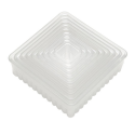 Fluted Square Biscuits and Pastry Cutter
