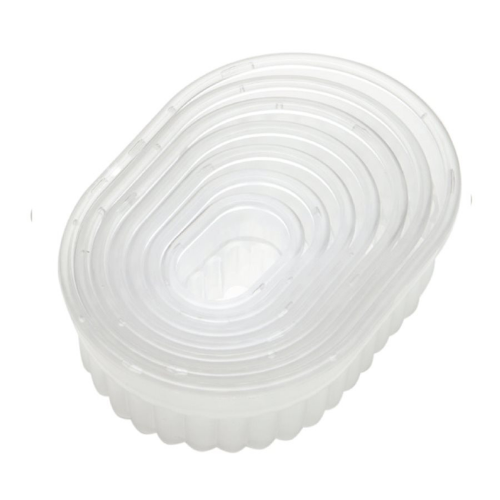 Fluted Oval Biscuits and Pastry Cutter
