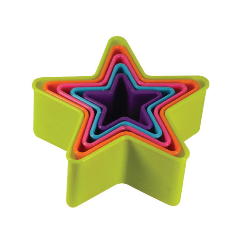Star Shape Fondant, Pastry and Biscuits Cutters