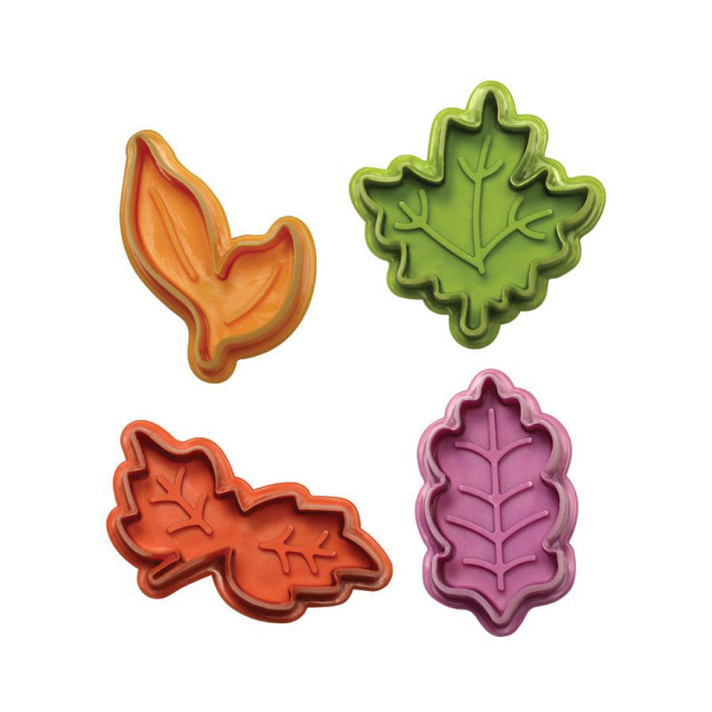 Leaves Fondant and Pie Cutter