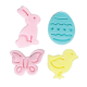 Easter Fondant and Pie Cutter