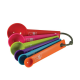 Multicolor Measuring Spoon Set Of 6