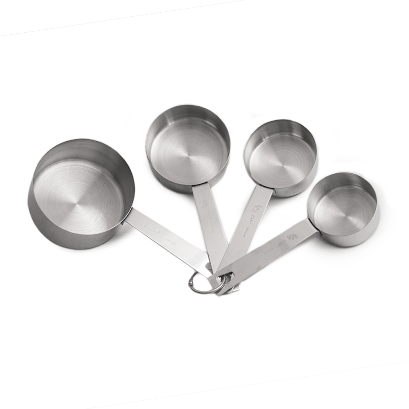 Stainless Steel Measuring Cup Set Of 4 Measuring Cups