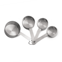 Stainless Steel Measuring Cup Set Of 4