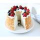 Angel Food Cake Pan With Removeable Bottom
