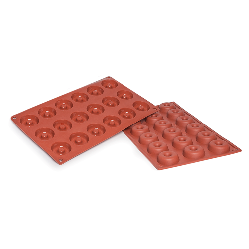 Savarin Silicone Baking Mould 18-Cavity 17,7ML