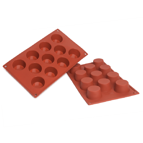 Small Muffin Silicone Baking Mould 11-Cavity 50ML