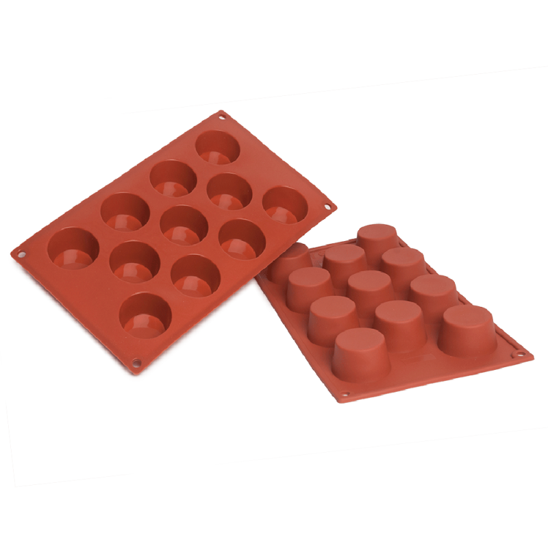 Small Muffin Silicone Baking Mould 11-Cavity 50,3 ml