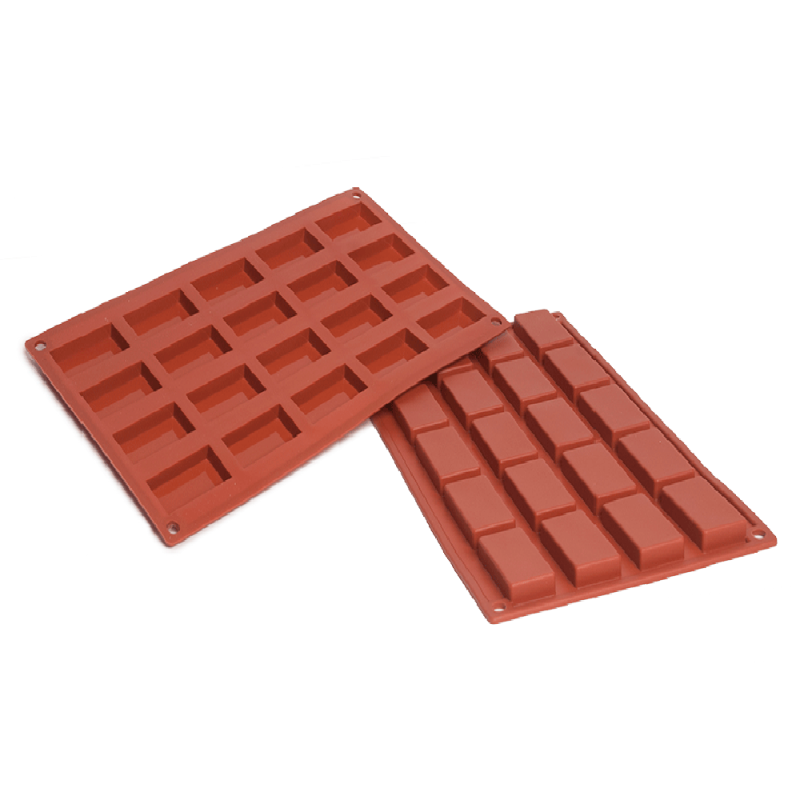 Financier Silicone Baking Mould 20-Cavity 20,7 ML
