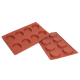 Florentine Silicone Baking Mould 8-Cavity 35,5 ml