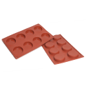 Florentine Silicone Baking Mould 8-Cavity 35,5ML
