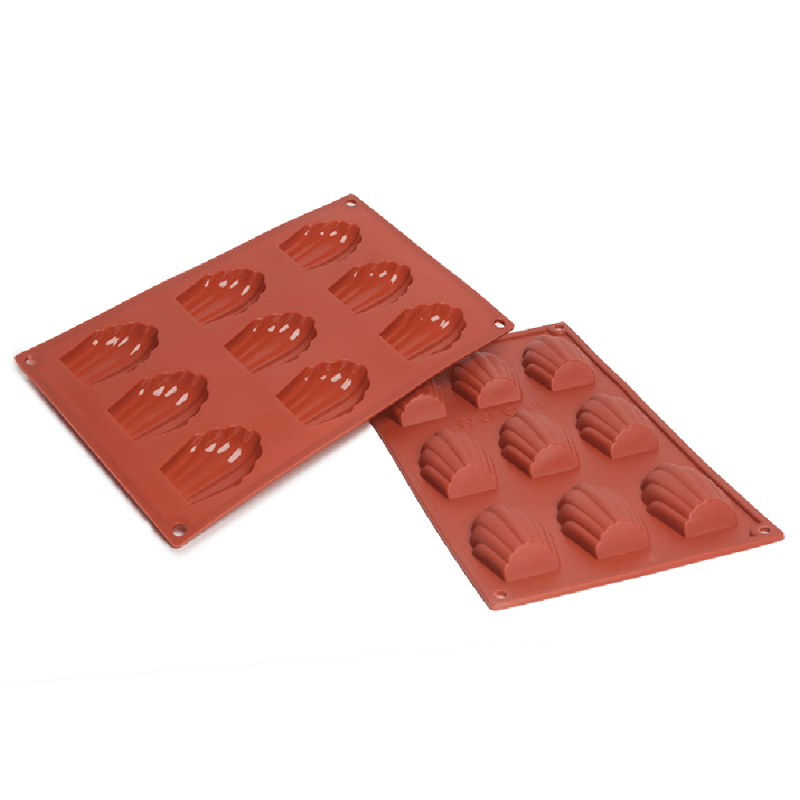 Madeline Silicone Baking Mould 9-Cavity 29,6 ml