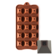 Pyramid Shape Silicone Chocolate Mould 15-Cavity