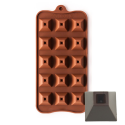 Pyramid Shape Silicone Chocolate Mould