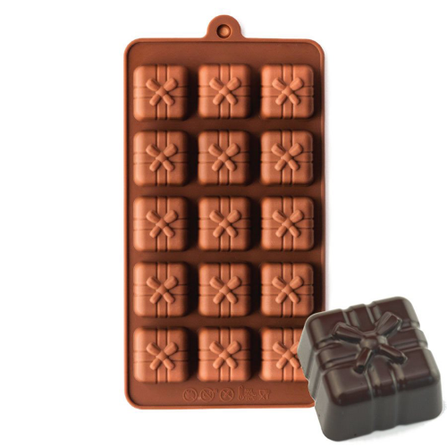 Silicone Chocolate Mould Gift Box 15-Cavity