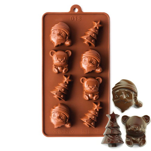 Christmas Silicone Chocolate Mould