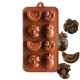 Tropical Fruit Silicone Chocolate Mould 8-Cavity