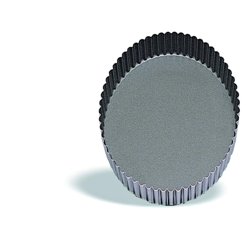 Round Tart Mould With Fluted Edges