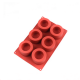 Silicone Baking Mould 6-Cavity