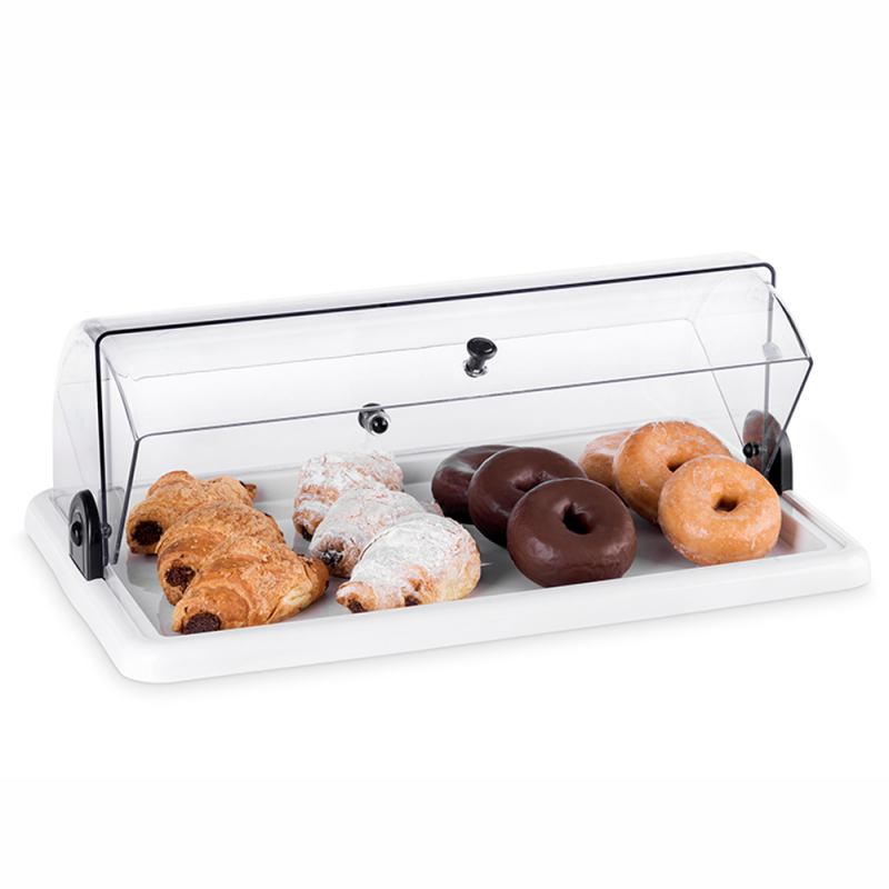 Rectangular Acrylic Countertop Bakery Display Case
