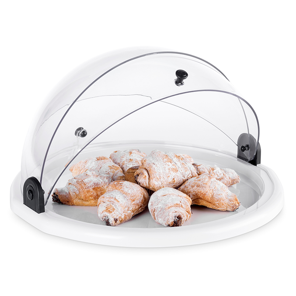 Round Acrylic Bakery Display Case - Countertop Bakery Display ...