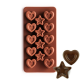 Silicone Chocolate Mould Stars and Hearts