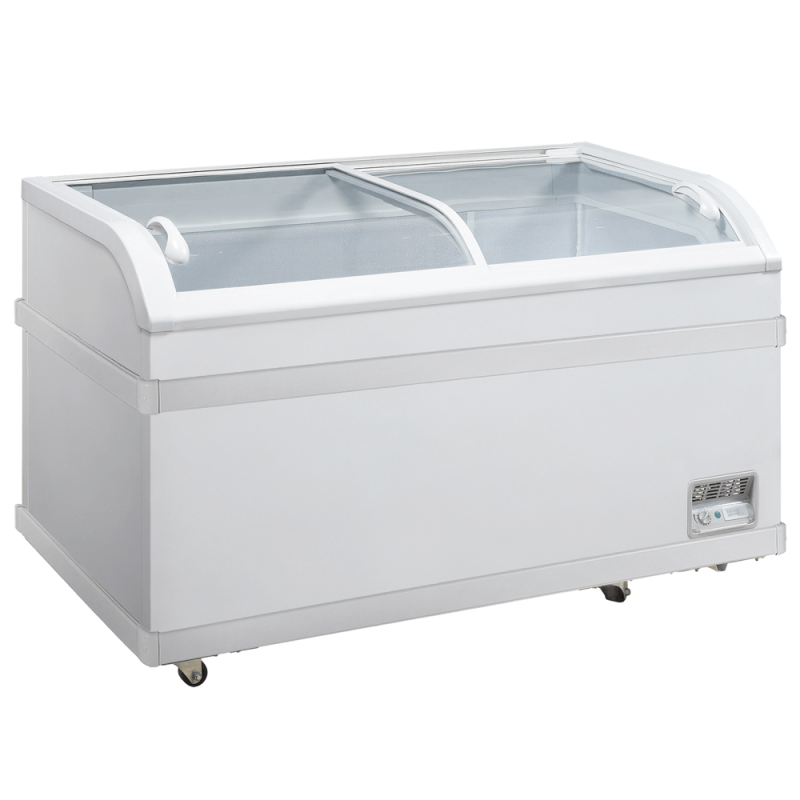 Glass Door Chest Freezer Commercial Freezers Bakery