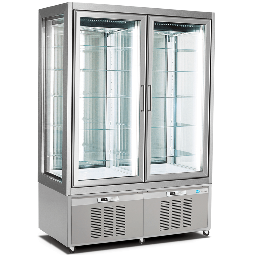 Double Refrigerated Display Case