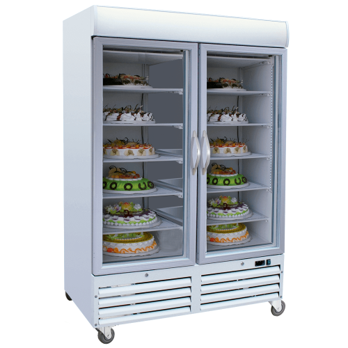 Display Case Freezer