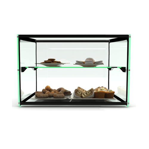 Glass Non Refrigerated Rectangular Display Cabinet EP10