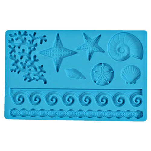 Sea Life Fondant and Gum Paste Mould