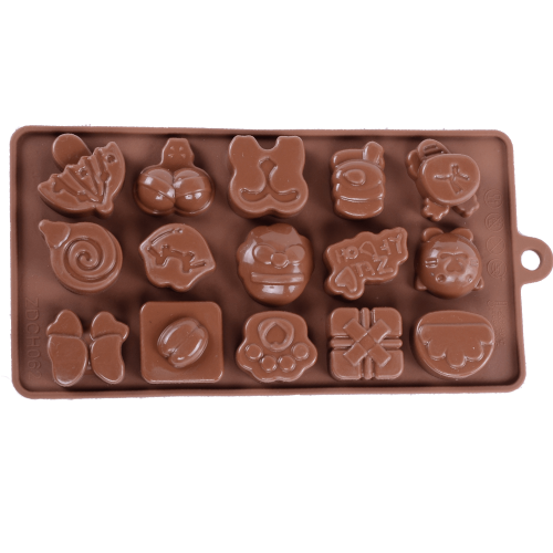 Silicone Chocolate Mould Beach Party