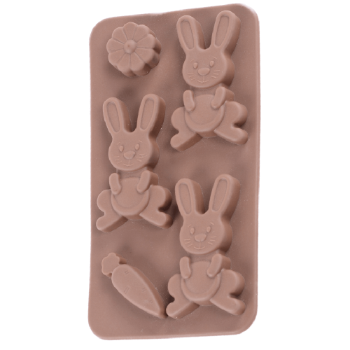 Silicone Chocolate Mould Rabbit with Carrot