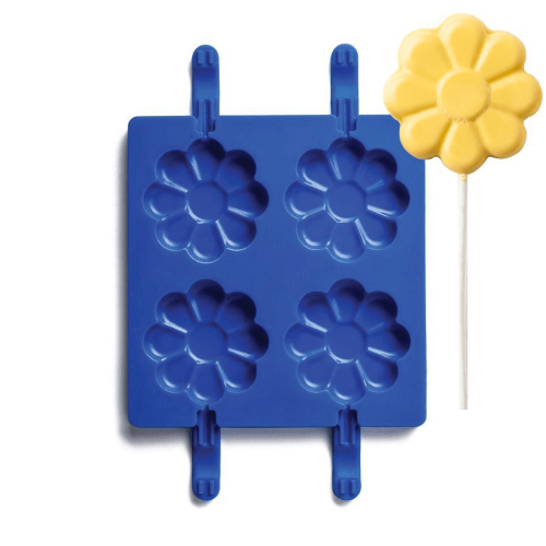 Daisy Shape Silicone Lollipop Mould
