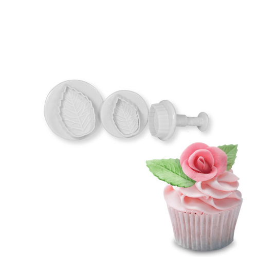 Rose Leaf Plunger Set