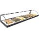 Glass Non Refrigerated Display Cabinet E6