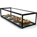 Glass Non Refrigerated Rectangular Display Cabinet EP20