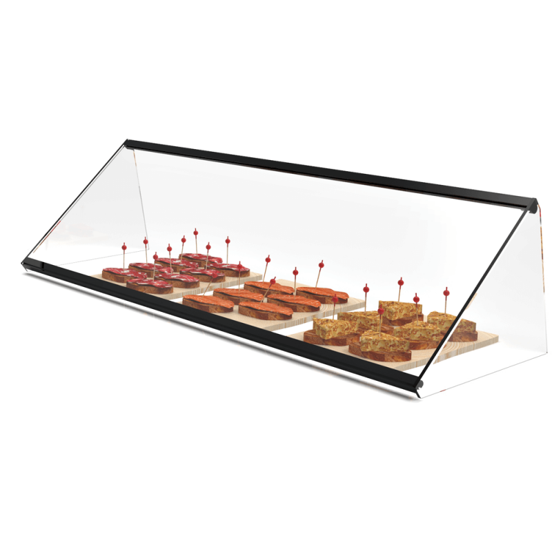 Glass Non Refrigerated Display Cabinet SIMPLY