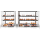 Glass Non Refrigerated VISION Display Cabinet