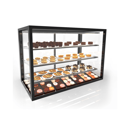 Glass Non Refrigerated Display Cabinet INTEGRAS