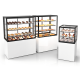 Glass Non Refrigerated Display Cabinet INTEGRAS On The Ground