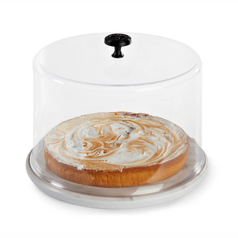 Clear Round Lid for Presentation