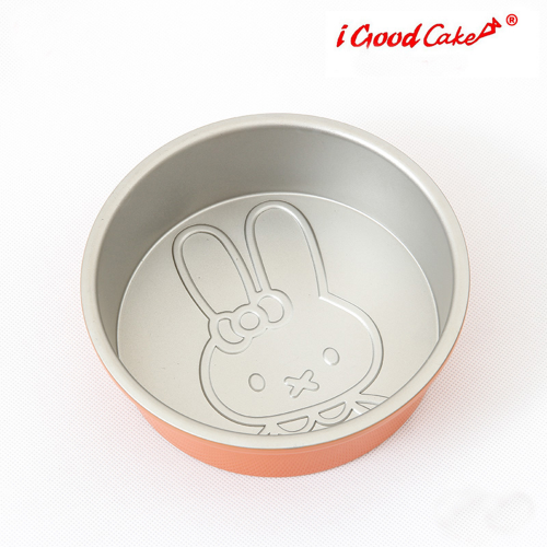 Nonstick Round Cake Pan Rabbit Ø 15 x 5 cm