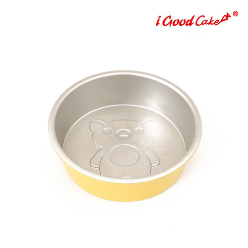 Nonstick Round Cake Pan Bear