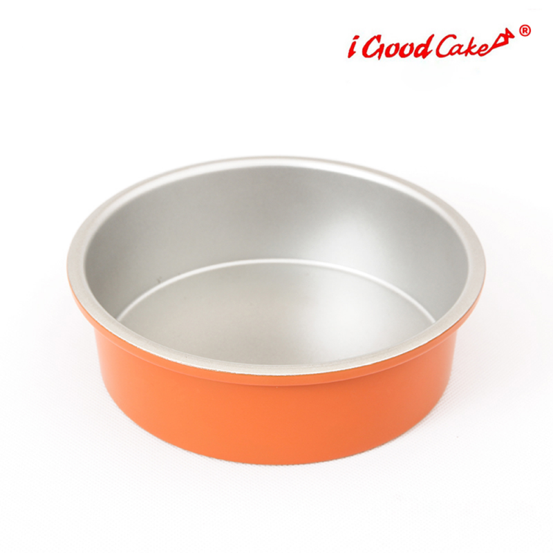 Nonstick Round Cake Pan Orange 15 x 5 cm