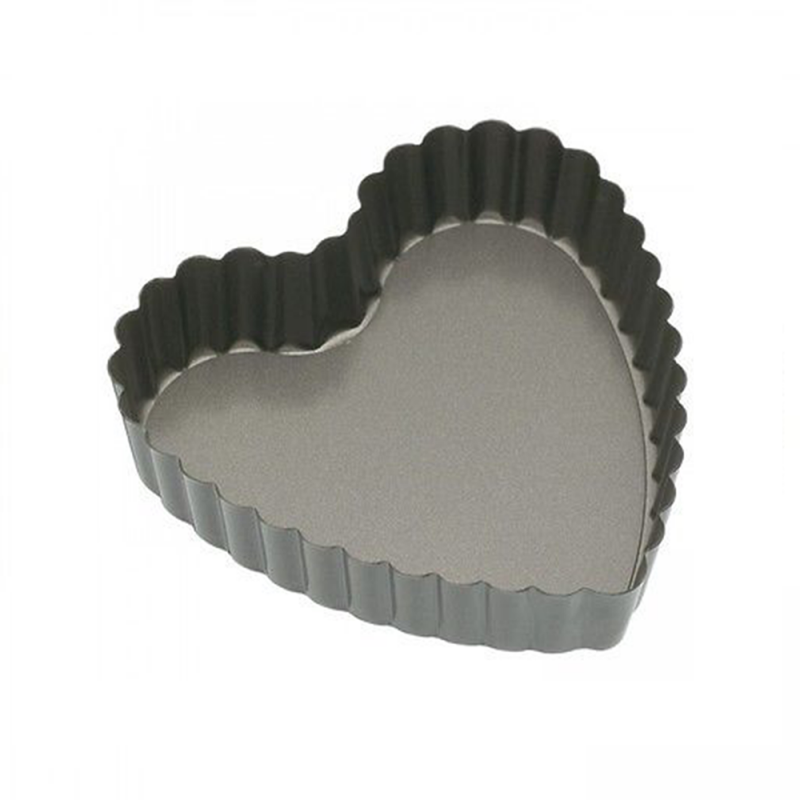 Mini Heart Tart Pan With Removable Bottom Nonstick Pans